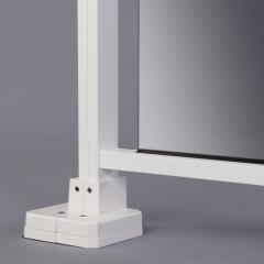 Sabot réglable - profil carré